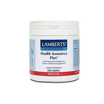 Lamberts Health Insurance Plus, 250 tablets