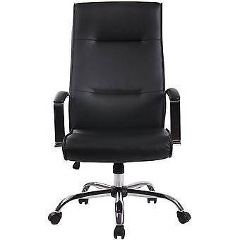 Toimistotuoli - Työpöytätuoli - Kotitoimisto - Moderni - Musta - Metalli - 63 cm x 72 cm x 114 cm