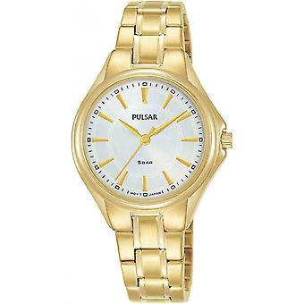 Reloj de mujer Pulsar Gold Stainless Steel PH8502X1
