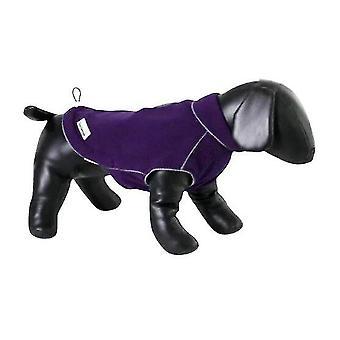Dog apparel dog coat fleecy 92/61 cm fleece/teflon purple
