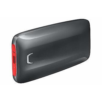 MU PB1T0B/Portátil SSD X5Â Thunderbolt 1TB 3Â (Cabe até 2800 MB/s) Cabo tipo C preto/vermelho