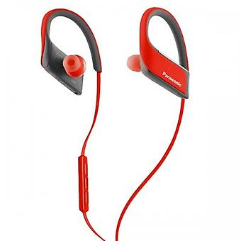 Bluetooth Sports Headset With Microphone Panasonic Corp. Rp-bts30e Red
