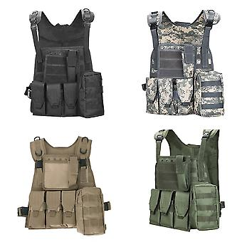 Tactice de vânătoare militare Vesta în aer liber Vesta Îmbrăcăminte Combat Assault Vest