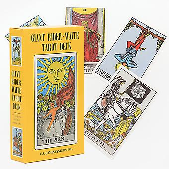 Hot Board Game Giant Rider-waite Tarot Deck Énorme Carte de Tarot Carte Oracle
