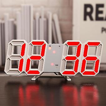 3d led digitale tafel wandklok groot display wekker helderheid thuis december