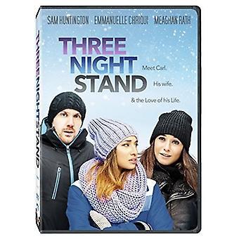 Three Night Stand [DVD] USA import