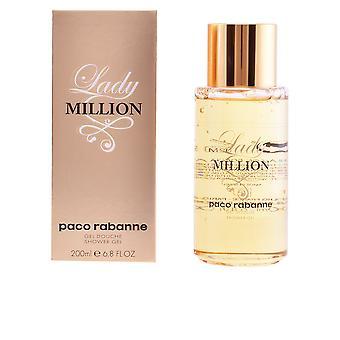 Paco Rabanne Lady milhões chuveiro Gel 200 Ml para as mulheres