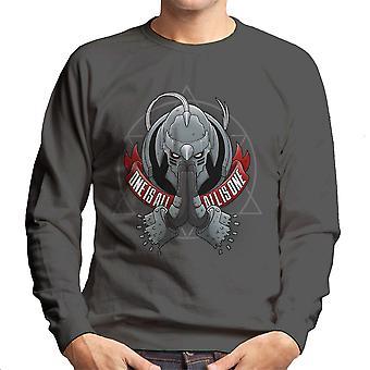 One Is All All Is One Fill Metal Alchemist Men's Sweatshirt
