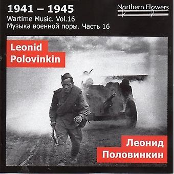 St.Petersburg State Academic Symphony Orchestra - Wartime Music 16 L. a. Polovinkin [CD] USA import