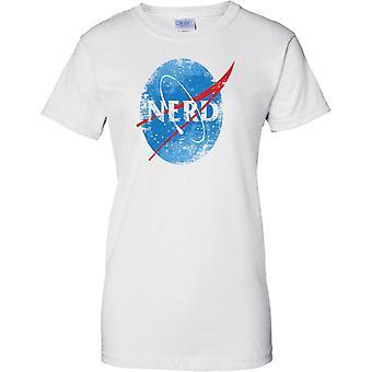 NERD-NASA inspirerad-dam T shirt