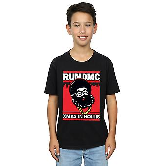 Run DMC Boys Santa Christmas T-Shirt