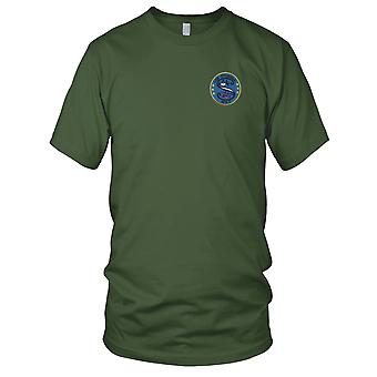 US Navy USS Sylvania AFS-2 Combat Stores Ship Embroidered Patch - Mens T Shirt