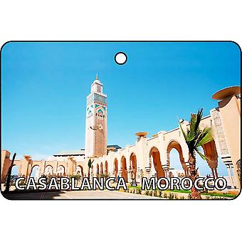 Casablanca - Marocco Car Air Freshener