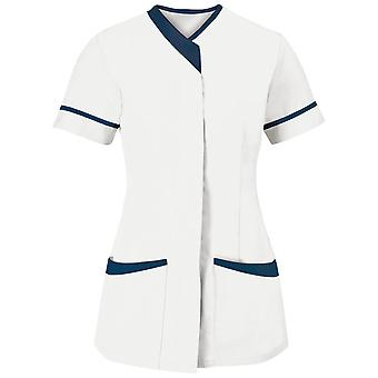 Alexandra Womens/dames Contrast Trim Medical/Healthcare werk tuniek