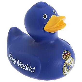 Real Madrid CF Official Bath Time Football Crest Vinyl Duck