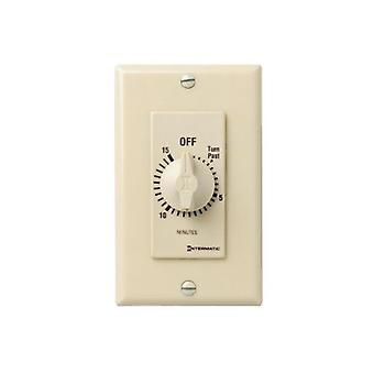 Intermatic FD15MC 15-Minute Spring Loaded Wall Timer