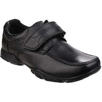 Hush Puppies Boys Freddy 2 Leather Durable Back to School Smart Shoes