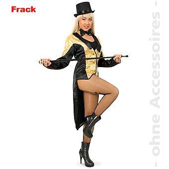 Frack frock jakke dame kostume pailletter damer kostume