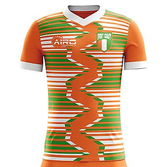 2020-2021 Ivory Coast Home Concept Football Shirt