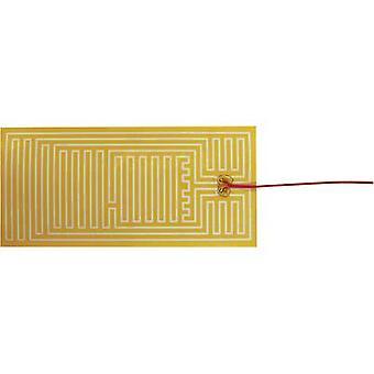 Chauffage de Polyester thermo clinquant auto-adhésif 12 v C.c., 12 V AC 30 W IP notation IPX4 (L x P) 340 mm x 160 mm