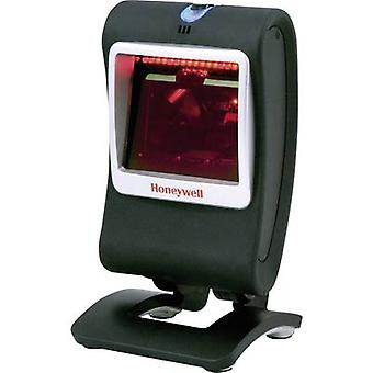 Honeywell AIDC Genesis 7580 G viivakoodinlukija johdollinen 1D 2D Imager hopea, musta kassa USB