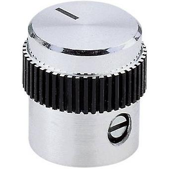 Mentor 5615.4614 Einstellknopf Aluminium (Ø x H) 15 x 15 mm 1 PC