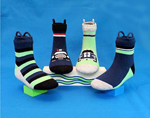 Jungen Cars EZ SOX Socken - 2 Paar, Alter 2-3 Jahre