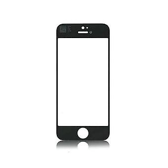 Stoff zertifiziert® iPhone 5 / 5C / 5S / SE AAA + Qualität Frontglas - Schwarz