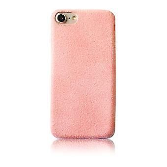 Rosa Plüsch-Hülle - iPhone 7/8