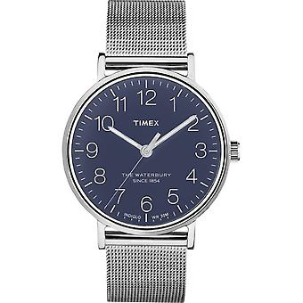 Timex mens watch Waterbury classic 40 mm stainless steel TW2R25900