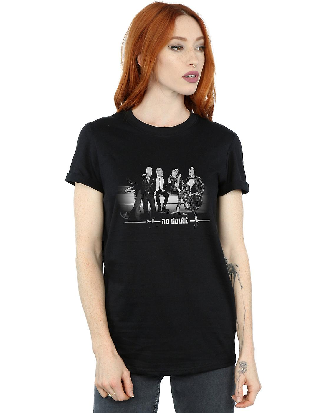No Doubt Women's Flashlight Photo Boyfriend Fit T-Shirt