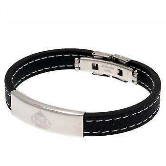 Sunderland Stitched Silicone Bracelet