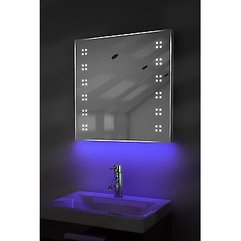 Ambient Slim LED Badezimmerspiegel mit Demister Pad & Sensor K37T