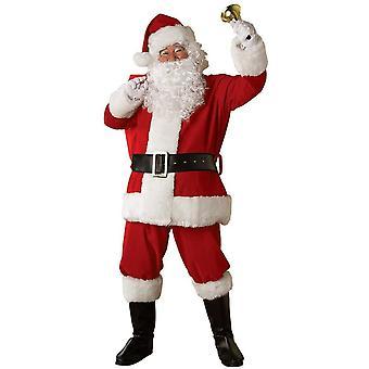 Plüsch Santa Erwachsenen Kostüm