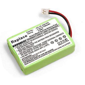 Batterie pour SportDOG SR200-j'ai choquer collier récepteur ProHunter 2400 HoundHunter 3200 SportHunter 1800