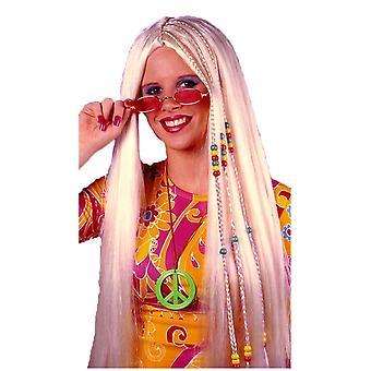 Braided Hippie Blonde Peruke