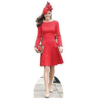 Księżna Catherine Cambridge - Kate Middleton Lifesize tektury wyłącznik / Standee / Standup