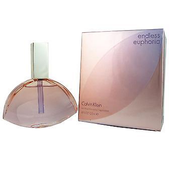 Calvin kleine endlose Euphorie eau de parfum 4 oz