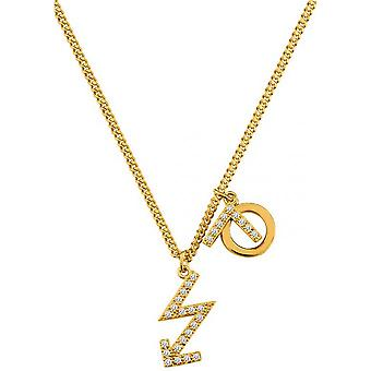 Necklace and pendant Kenzo KZO SAND SYMBOL 70249130108048 - necklace and pendant clear plate gold woman