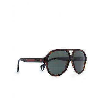 Gucci silmä lasien Sport pyöristetty Aviator aurinko lasit