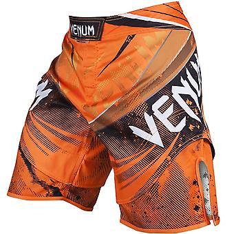 VENUM Mens galaktiske bekæmpelse Shorts - Neo Orange - bjj mma ufc