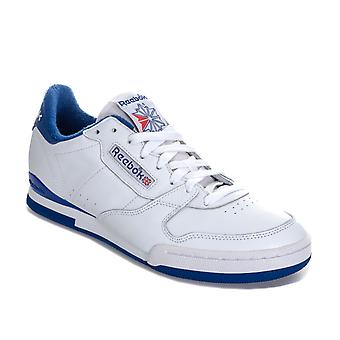 Mens Reebok Classic Phase 1 84 Archive Trainers In White Blue