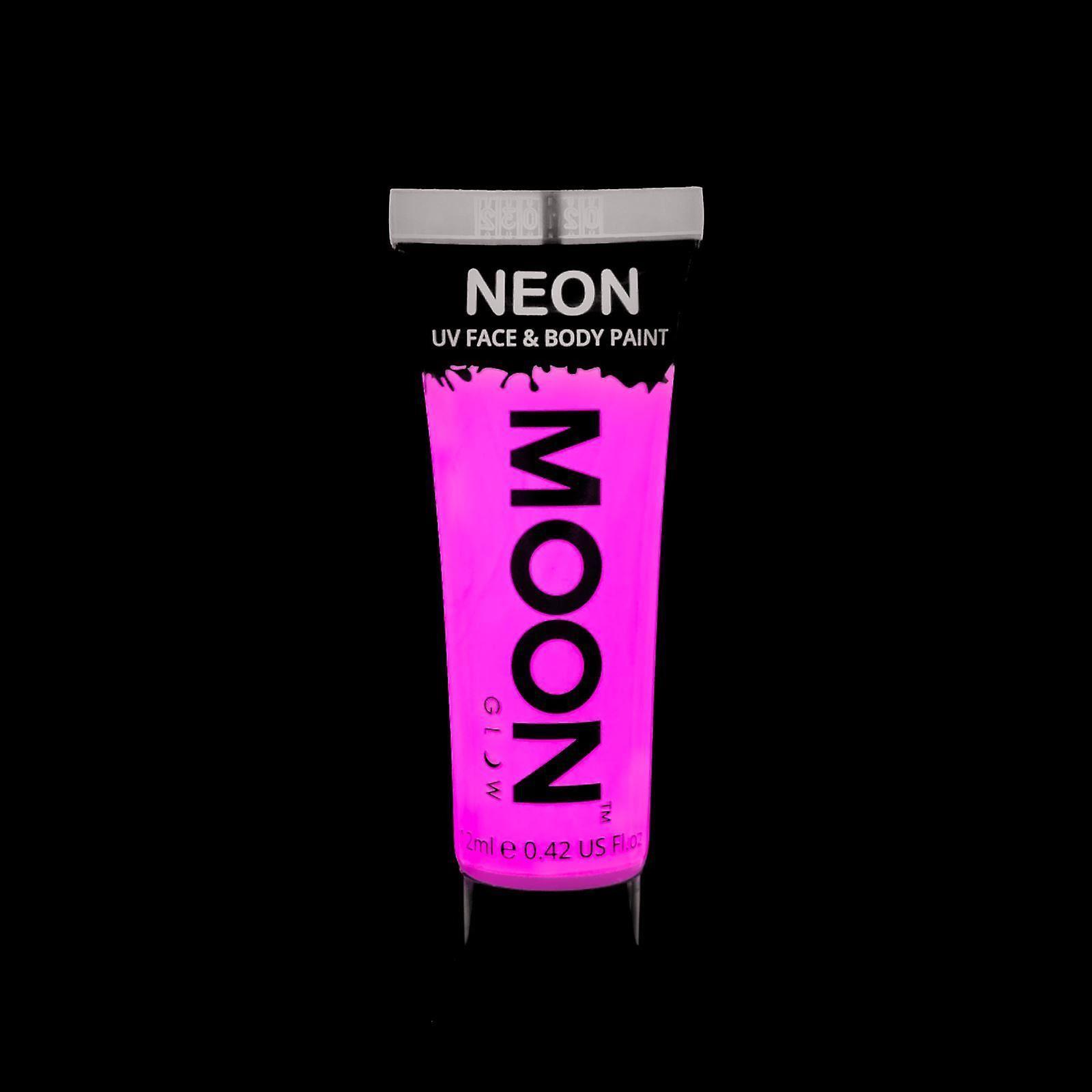 Moon Glow - 12ml Neon UV Face & Body Paint - Pastel Pink