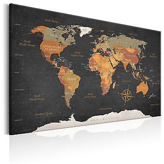 Billede - World Map: Secrets of the Earth