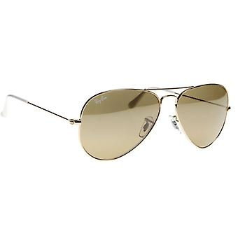 Ray-Ban Aviator Gold Mens Sunglasses RB3025-001/3K-62