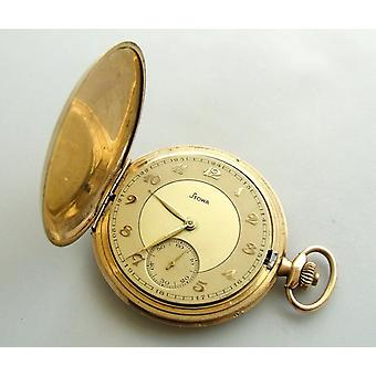 Yellow Gold pocket Watch Stowa