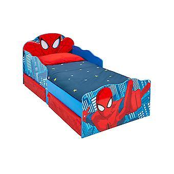 Letto Spiderman bambino con stoccaggio e luce gli occhi