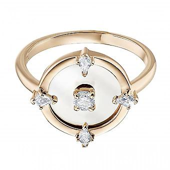 Swarovski Ring 5515025 - North M tal Rhodi Collection Floating Central Disc at Women's Centre