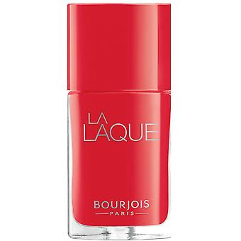 Bourjois Paris la Laque langvarig neglelakk-Flambant Rose (4) 10ml