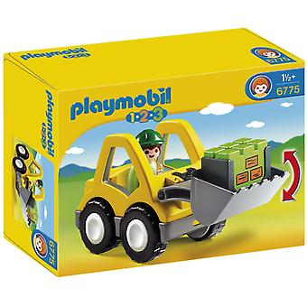 Playmobil 1.2.3 graafmachine 6775